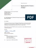 MDEQ-Marathon Petroleum Permit 63-08C ROP 2013-10-17