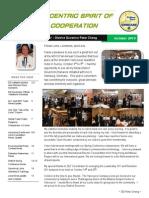 DG Peter Cheng October 2013 Newsletter
