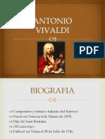 Antonio Vivaldi Exposicion