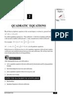Qudratic eqn practice for cbse11