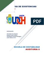 Auditoria Del Rubro Existencias