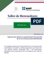 TallerRetenedores2013 SAT