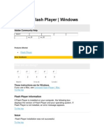 Flash Player Help