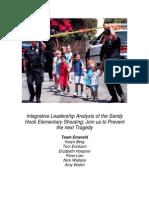 Integrative Leadership Research Paper - Gun Violence