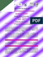 Informacion Diplomado Especializacion en Estudios de Genero Feminista -XV Promocion