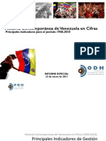 Historia Contemporanea Venezuela en Cifras 1958 2010