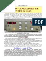 Generatore Bassa Frequenza-DelCiotto