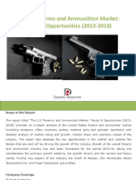 The US Firearms and Ammunition Market