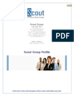 Scout Group Profile - IT Serives, Outsourcing, Business Consulting