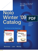 Nolo Winter 2010 Catalog