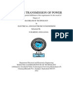Wire less Transmission of power