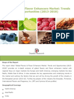 Global Flavors and Flavor Enhancers Market