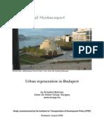Urban Regeneration in Budapest