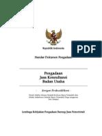 Sbd Jasa Konsultansi Badan Usaha Prakualifikasi Satu Sampul