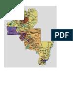 mapa distrital