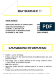 Energy Booster (Group 1)
