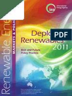 i e a 2011 Deploying Renewables
