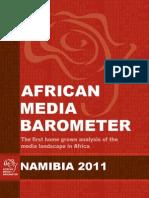 Barometre Des Medias Africains (Namibia)