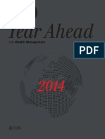"""UBS, CIO, Wealth Management, Dec 11, 2013, Year Ahead 2014. """"A journey to your financial goals."""""""