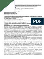 Comentarios Sobre La Eleccion de Las Protecciones Electricas en Las Instalaciones de BT Segun La Reglamentacion AEA90364