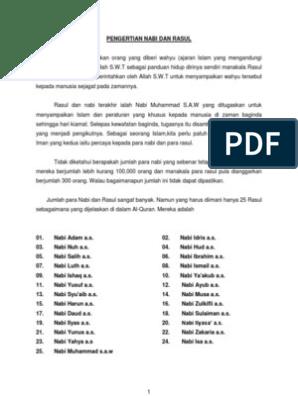 Pendidikan Islam Tahun 4 Utusan Mulia Pages 1 18 Text Version Anyflip