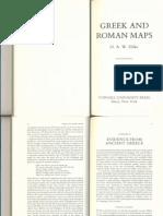 O.a.W. Dilke, Greek and Roman Maps