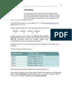IP Address & Sub Netting