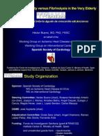 TRIANA - Primary Angioplasty versus Fibrinolysis in the Very Elderly