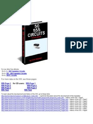 555 timer Circuits | Electronic Circuits | Electronic Oscillator
