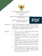 Peraturan Daerah Kota Magelang Nomor 4 Tahun 2012 tentang Rencana Tata Ruang Wilayah Kota Magelang Tahun 2011-2031