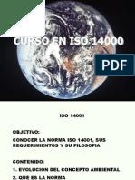 Cumplimiento con el estándar ISO-14001