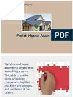 Prefab House Assembly