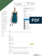 Halter neckline Ruffle Trim Chiffon Short Prom Dress
