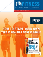 Start a fitness group
