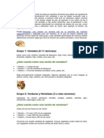 Alimentacion Vegetariana_proporciones y Raciones