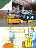 MANIPULACION DE MATERIALES