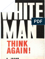 White Man Think Again - Anthony Jacob