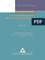 Large Group Medical Business Practice Note Aug2013