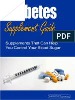 Diabetes Supplement Guide