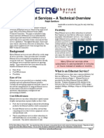 "2. Metro Ethernet Services – A technical overview"", Metro Ethernet Forum, 2003"