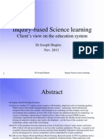 Inquiry-Based Science Learning 2