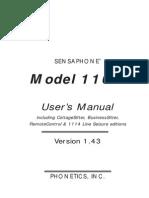 Sensaphone+1104+Manual