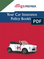 Hastings Premier Car Policy Booklet