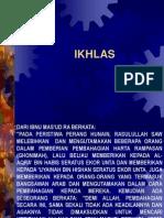 Kuliah Subuh_Ikhlas
