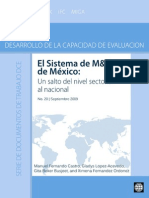 El Sistema de Monitoreo de Mexico Esp