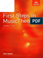 First Steps in Music Theory - Eric Taylor