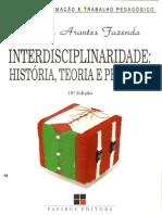fazenda, i. - interdisciplinaridade história, teoria e pesquisa - cap. 1