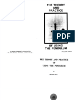 Malcolm Strutt - The Theory and Practice of Using the Pendulum