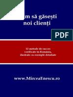 Mircea Enescu - Cum Sa Gasesti Noi Clienti - 2013