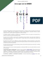 A física que cai no ENEM - Brasil Escola